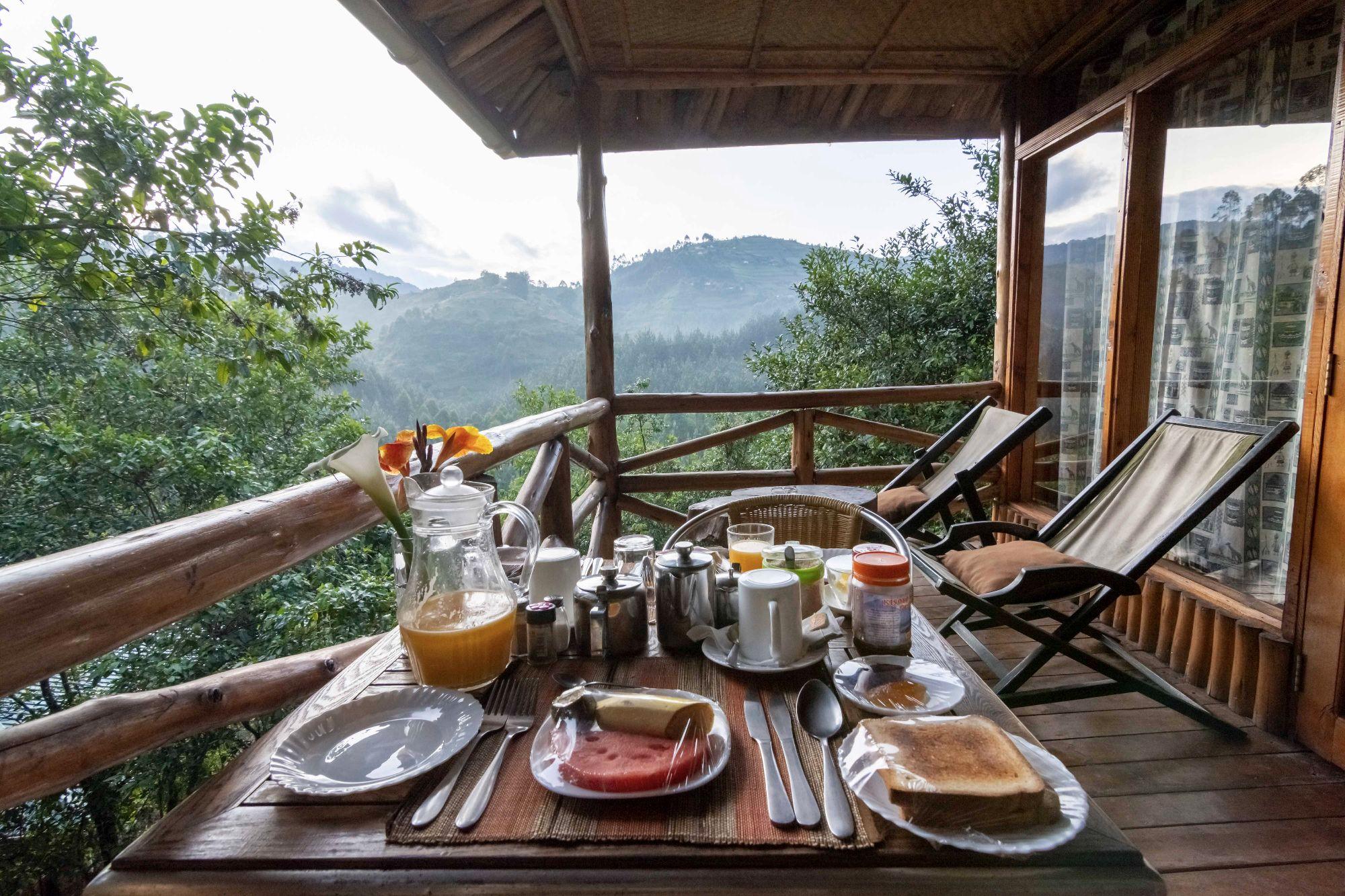 Rushaga Gorilla Camp Breakfast