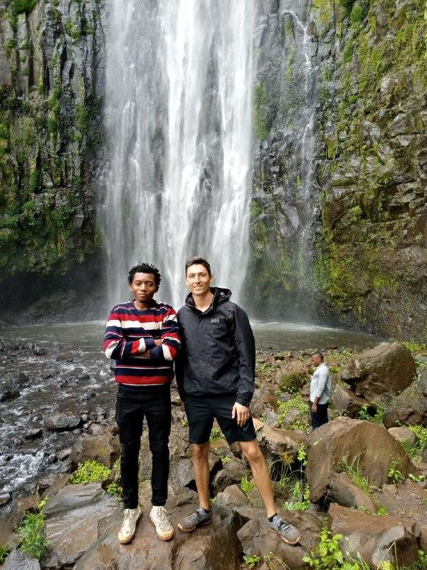Materuni waterfall hiking